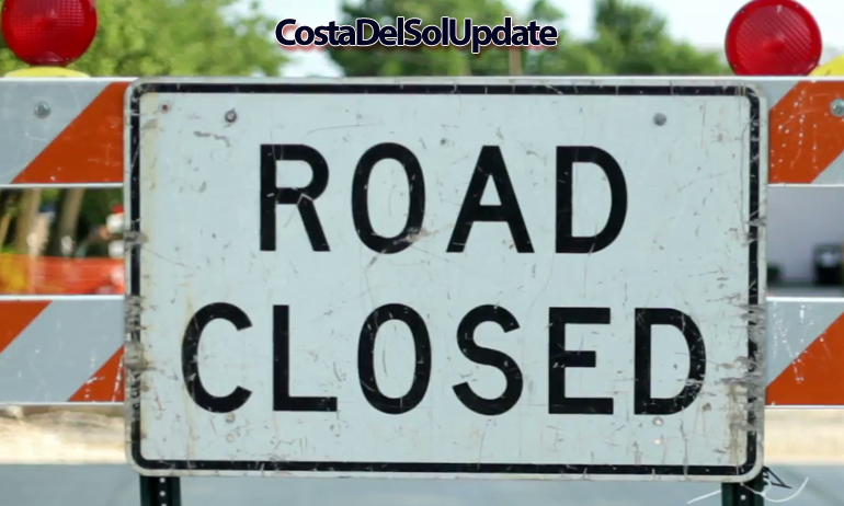 Costa Del Sol Main Road Facing Daily Closures